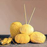 Der Sommer kann kommen: Stricken mit gelben Sommergarnen (Teil 1 - Garne)