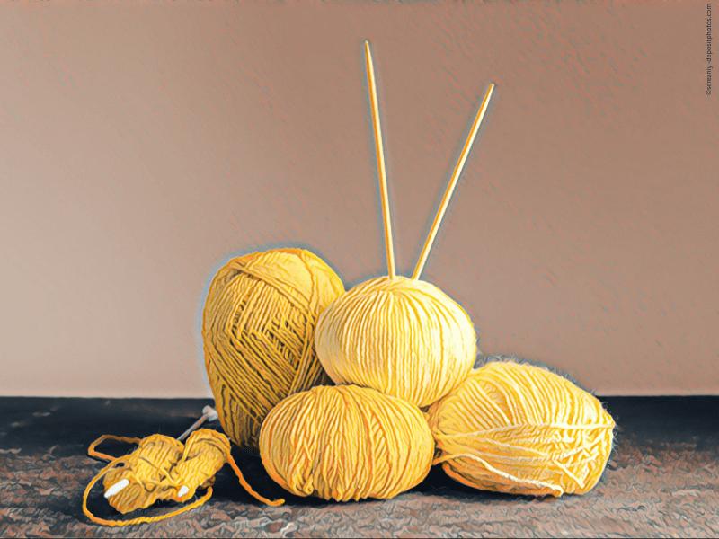 Der Sommer kann kommen: Stricken mit gelben Sommergarnen (Teil 1 – Garne)
